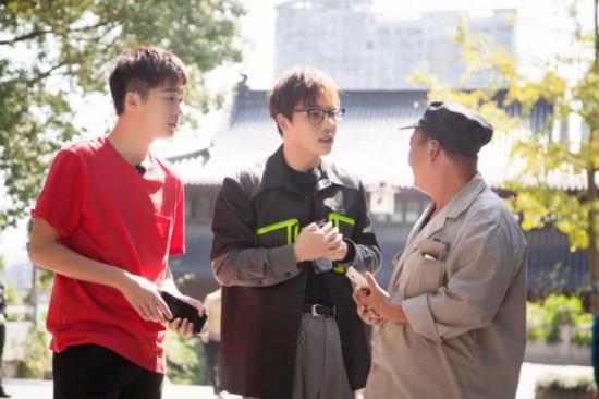 湖南卫视《快乐哆��咪》刘维体验武汉民国风情