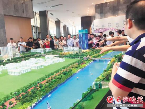 湖南中原数据显示,11月第一周长沙全市共7个住宅项目开盘,推出2486套新房。长沙晚报记者 周斌 摄