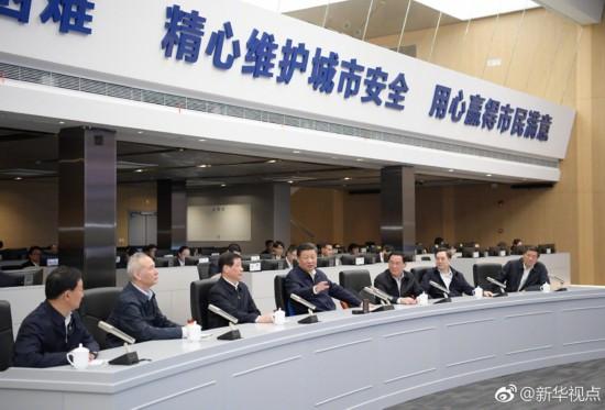 习近平寄语上海:勇创国际一流城市管理水平--新闻报道