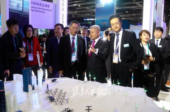 盐城组团参加中国国际进口博览会 共享发展机遇