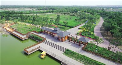 天津滨海新区打造生态宜居新城