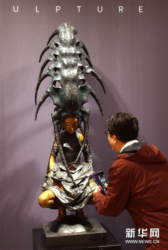 (文化)(3)2018上海艺术博览会开幕