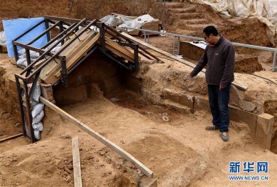 (文化)(2)洛阳发现西汉大墓
