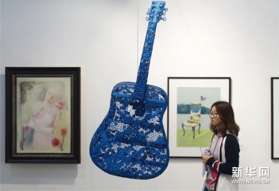 (文化)(2)2018上海艺术博览会开幕
