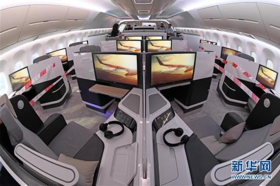 (科技)(3)CR929远程宽体客机样机亮相航展