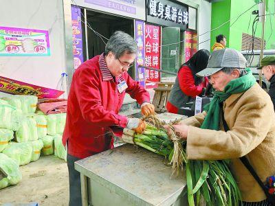 """京城冬储大白菜每天能卖6000斤市民:买得是""""念想"""""""