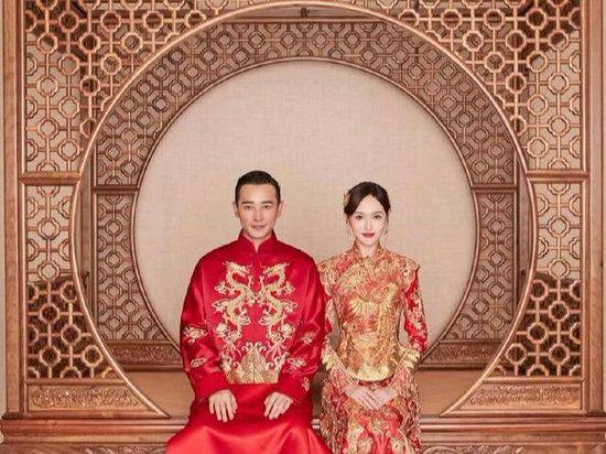 盘点明星结婚时的中式礼服