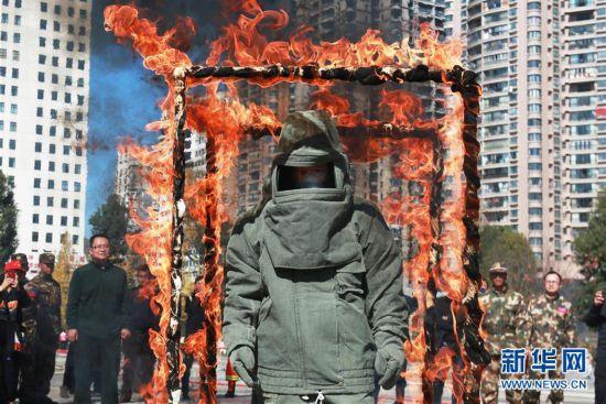 #(社会)(2)全民学消防 安全记心中