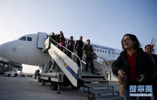 (服务)(1)陕西延安南泥湾机场正式通航