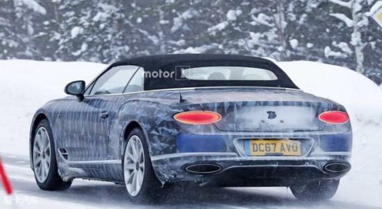 全新宾利欧陆GT敞篷版将11月27日首发