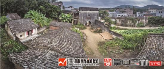 博白县名六村彭坡头:风淳俗美的客家古村落