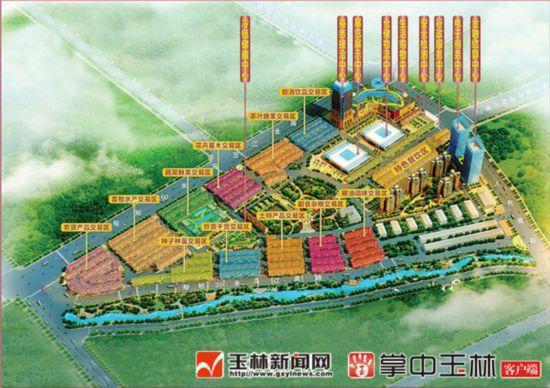 博白桂东南宏览农产品交易城建设提速