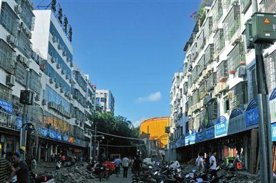 三亚新民街改造扮靓街区 计划打造特色商业街