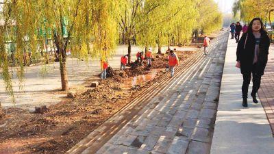 黄河风情线清淤工作全面完成