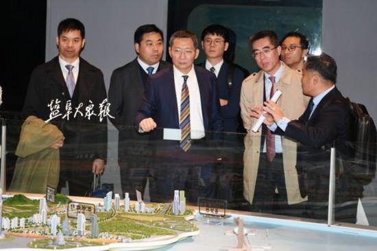戴源率盐城经贸代表团赴韩考察 实现协同发展