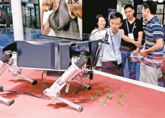 机器人:展示未来 无限可能