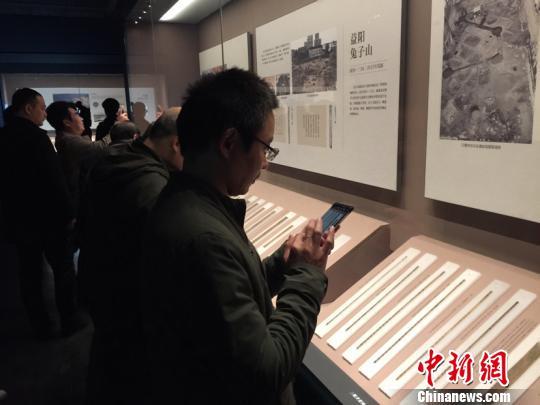 湖南最大规模简牍展长沙开幕大部分展品首次展出