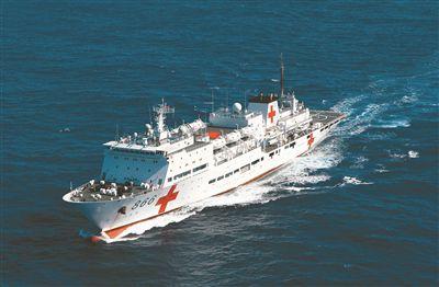 远海大洋,银河至尊娱乐登录海军和平方舟医院船正破浪前行。和平方舟所到之处,无不受到当地民众的欢迎和感谢。江山 摄