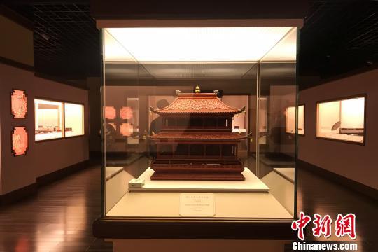 """280余件中国历代漆器珍品""""走出深闺""""在上海博物馆集中展出"""