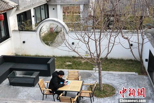 """探访北京延庆""""世园人家""""闲置老宅变精品民宿"""
