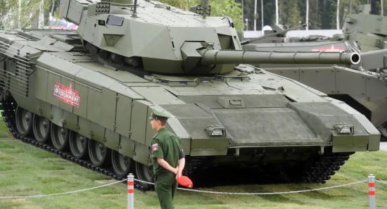 美媒:俄T-14坦克生存能力最强但一点不如梅卡瓦