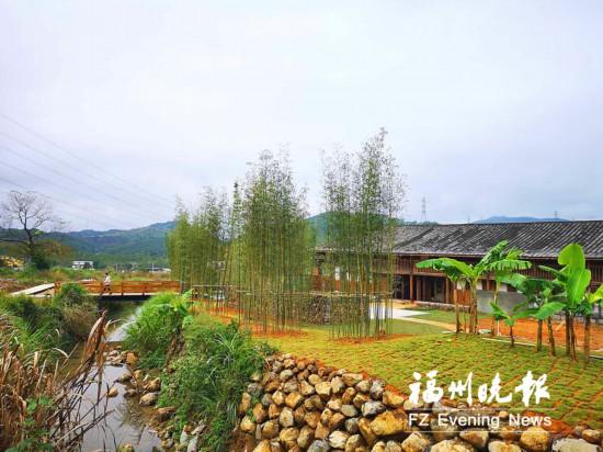 福州连江三落厝展新颜 预计12月中旬正式对外开放