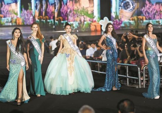 世界模特小姐大赛国际总决赛在深圳举行