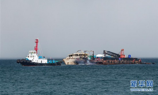 """(国际)(1)泰国将封锁打捞上岸的""""凤凰""""号以开展调查"""
