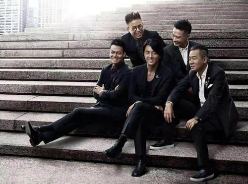 """秘密支持陈小春巡演 """"黄金兄弟""""郑伊健等惊喜现身"""