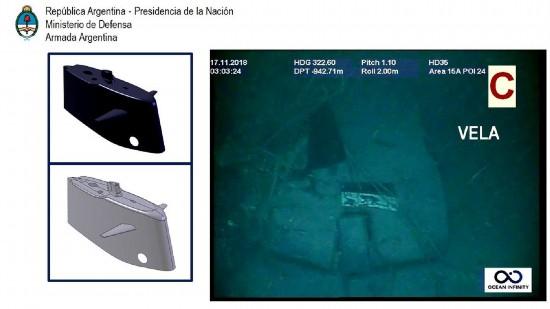 u盘启动盘制作视频,阿根廷失事潜艇最新水下照片曝光:螺旋桨损坏
