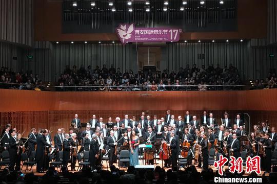 西安国际音乐节启幕柏林爱乐乐团献艺