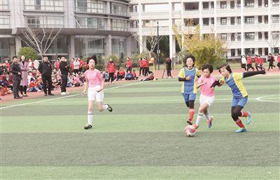 南通海门举行中小学校园足球总决赛