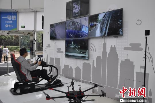 速度是4G网络100倍 重庆首个5G试验区首秀