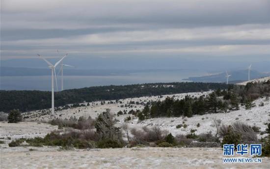 (国际・图文互动)(1)中企投资克罗地亚风电项目开工