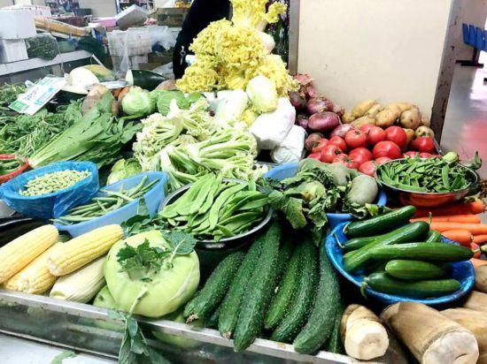 天气变冷淮安菜价上涨 毛豆6.3元/斤涨幅40%