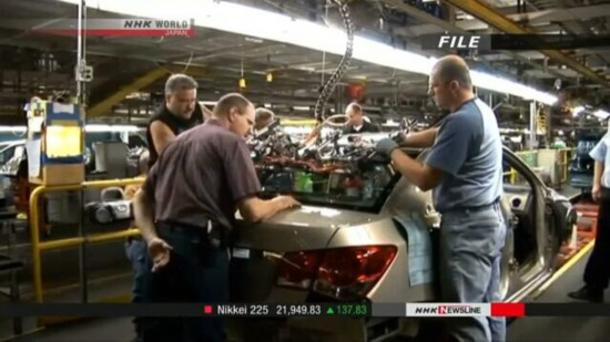 通用汽车宣布2019年关闭5家北美工厂