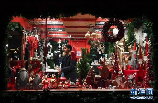 (XHDW)(6)德国法兰克福圣诞市场开张迎客