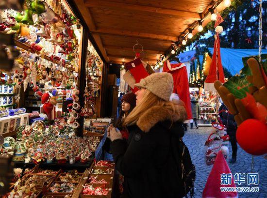 (XHDW)(5)德国法兰克福圣诞市场开张迎客
