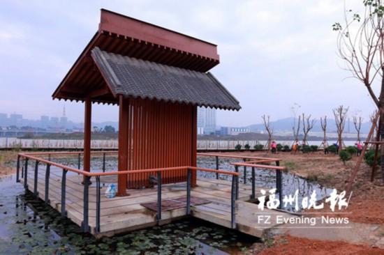 福州长乐洞江湖公园明年底开放 布置自行车道和慢跑道