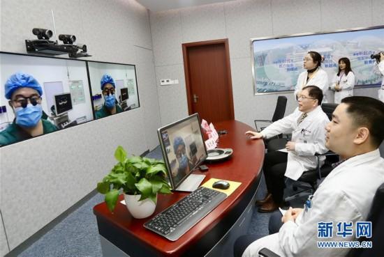 (健康)(1)沪疆合作远程精准指导微创手术救治先心病患儿