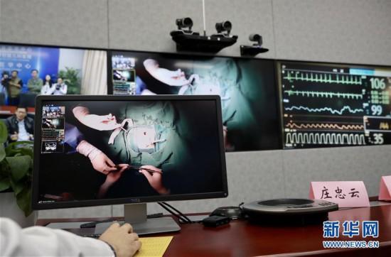 (健康)(3)沪疆合作远程精准指导微创手术救治先心病患儿