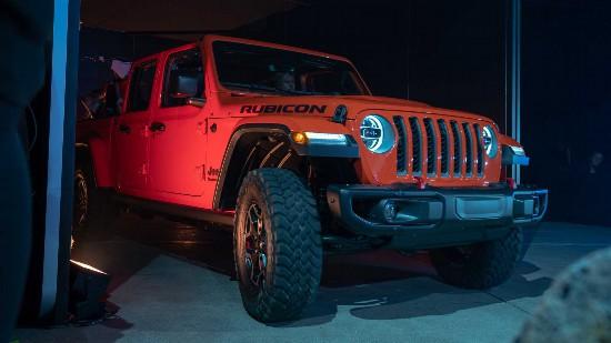 全新Jeep Gladiator集越野性能和皮卡实用性于一身