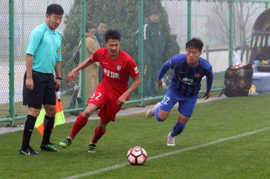 U23联赛权健1-1战平苏宁绝杀背后故事更加励志