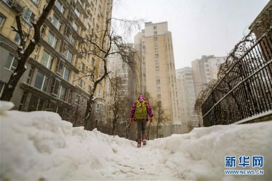乌鲁木齐迎来降雪