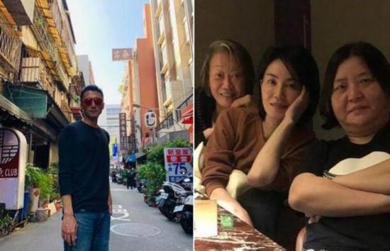 王菲赴台与好友导演相聚 男友谢霆锋也在台湾