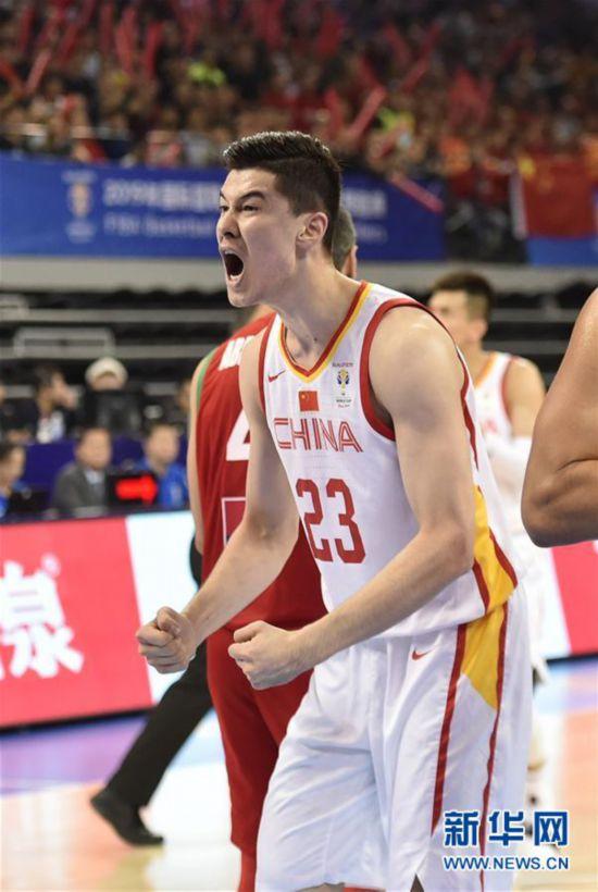 (体育)(2)篮球――男篮世界杯预选赛:中国战胜黎巴嫩