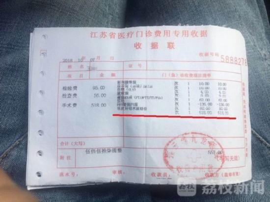 连云港一男子遭遇手术台上加价:命根子都割开了敢不从吗?