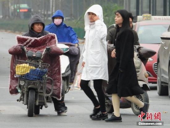 冷空气强势上线 中东部大部将迎入冬以来气温最低值