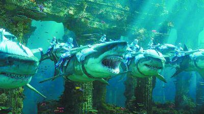《海王》视觉特效获赞瑰丽海底世界堪比《阿凡达》