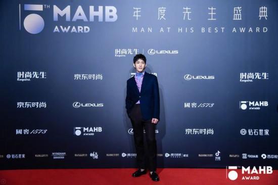 为时代风云加冕 第十五届MAHB年度先生盛典礼至京城